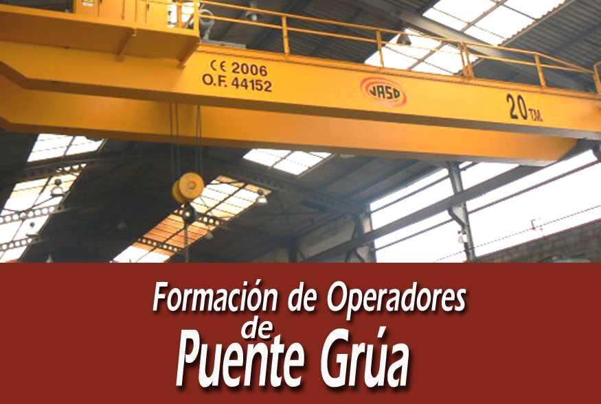 Formación de Operadores de Puente Grúa