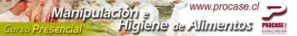 Manipulación e Higiene de los Alimentos