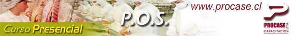 Procedimientos Operacionales de Saneamiento POS (Curso Oficial Sernapesca)