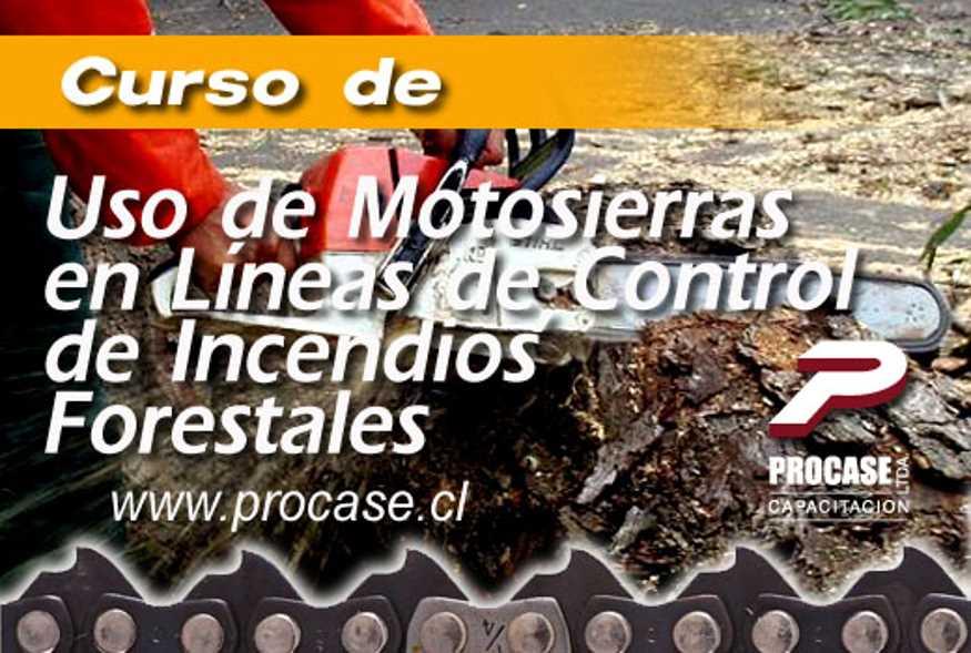 Uso de Motosierras en Líneas de Prevención de Incendios Forestales