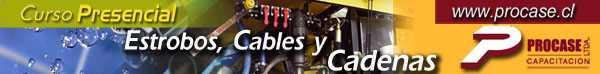 Estrobos: Cables y Cadenas