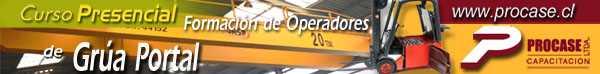 Formación de Operadores de Grúa Portal