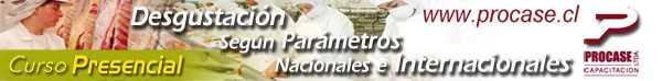 Degustación según Parametros Nacionales e Internacionales