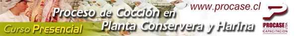 Proceso de Cocción en Planta Conservera y Harina