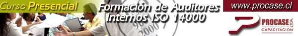 Formación de Auditores Internos ISO 14000