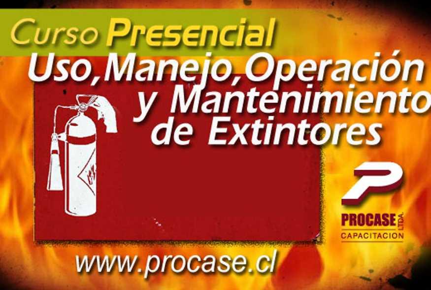 Uso, Manejo, Operación y Mantenimiento de Extintores