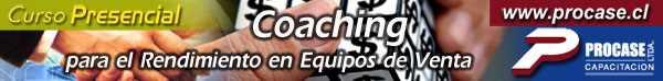 Coaching para el Rendimiento en Equipo de Ventas