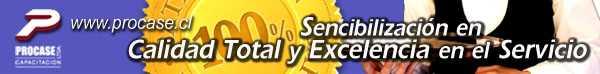 Sensibilización en Calidad Total y Excelencia en el Servicio