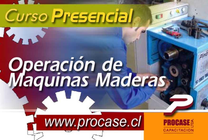 Operación de Máquinas Madereras