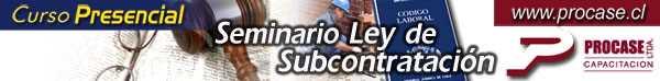 Seminario Ley de Subcontratación