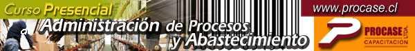 Administración de Procesos y Abastecimiento