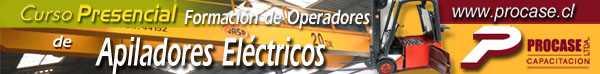 Formación de Operadores de Apilador Eléctrico