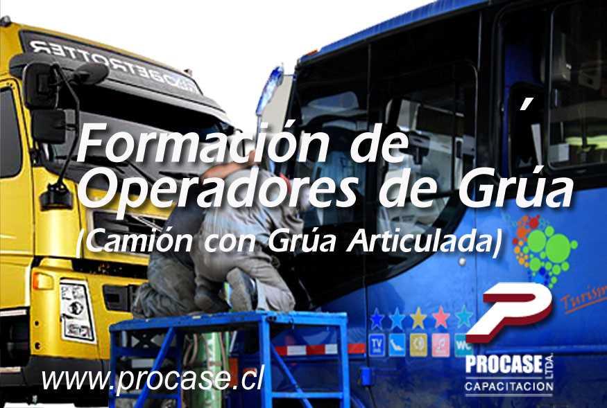 Formación de Operadores de Grúa (Camión con Grúa Articulada)