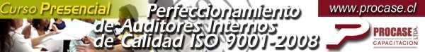 Perfeccionamiento de Auditores Internos de Calidad ISO 9001