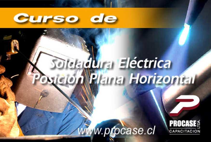 Soldadura Eléctrica Posición Plana Horizontal