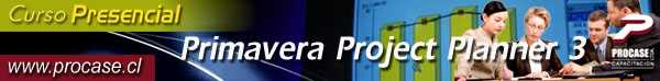 Primavera Project Planner3