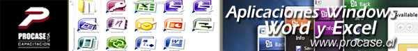Aplicaciones Básicas de Windows Word y Excel