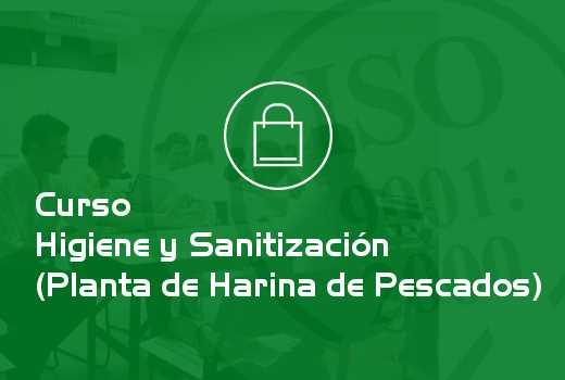 Higiene y Sanitización (Planta de Harina de Pescados)