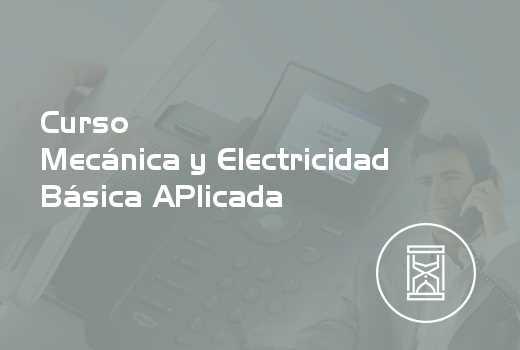 Mecánica y Electricidad Básica Aplicada