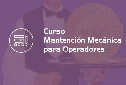 Mantención Mecánica para Operadores