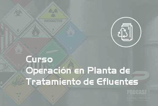 Operación en Planta de Tratamiento de Efluentes