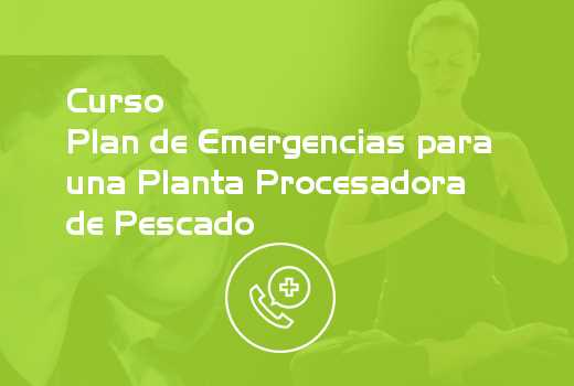 Plan de Emergencias para una Planta Procesadora de Pescado
