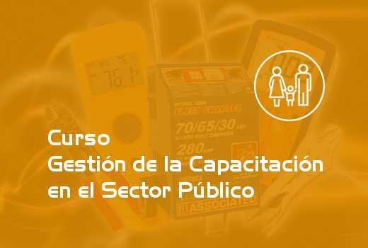 Gestión de la Capacitación en el Sector Público