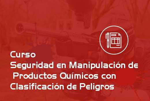 Seguridad en Manipulación de Productos Químicos con Clasificación de Peligros