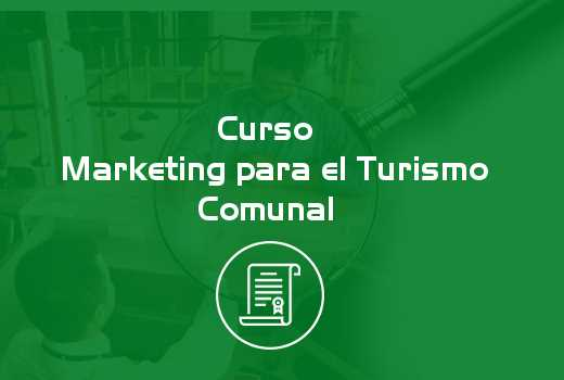 Marketing para el Turismo Comunal