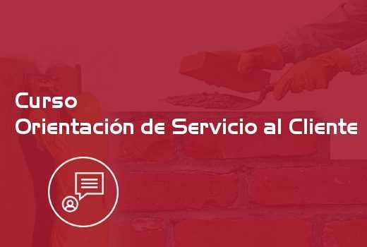 Orientación de Servicio al Cliente