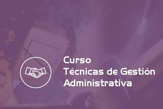 Técnicas de Gestión Administrativa