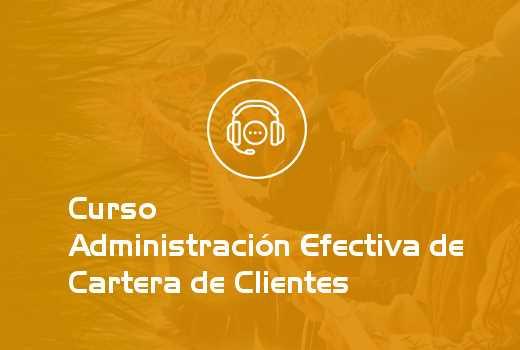 Administración Efectiva de Cartera de Clientes