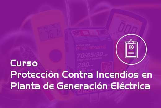 Protección Contra Incendios en Planta de Generación Eléctrica