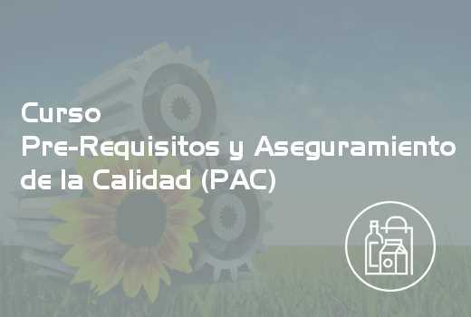 Pre-Requisitos y Aseguramiento de la Calidad (PAC)