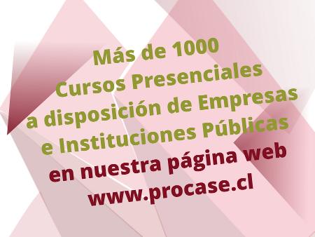 Más de 1000 Cursos Presenciales Disponibles.